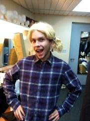 Charlene wig fitting