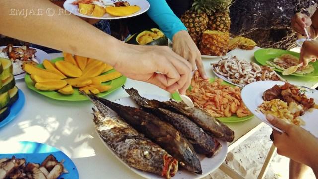 Lunch Entalula Island El Nido Palawan Island Hopping