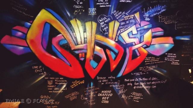 Graffiti Gibbs' Hot Wings