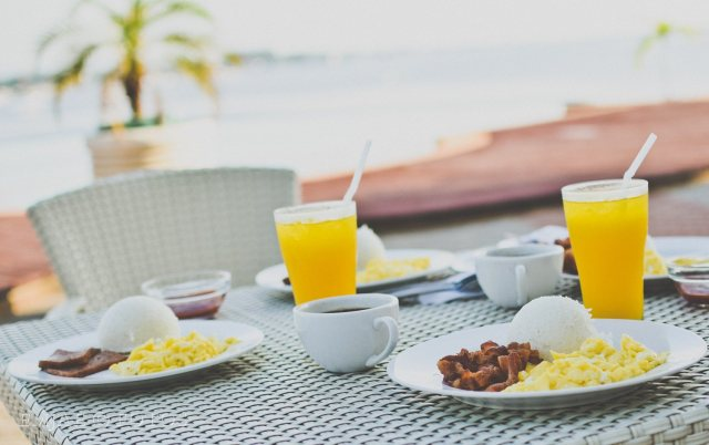 Breakfast Danao Coco Palms Resort