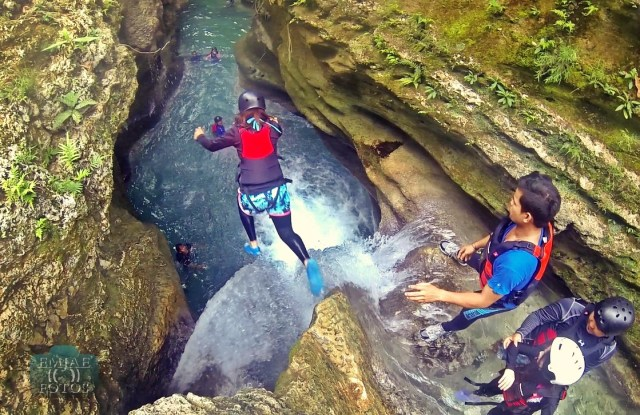 First Jump Canyoning Canyoneering in Cebu