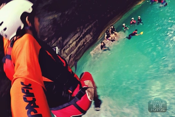 POV Jump Canyoning Canyoneering in Cebu