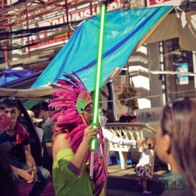 Feathers Sinulog Star Wars Cebu Lightsaber