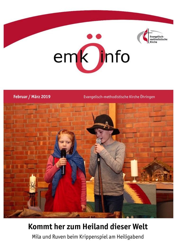 Gemeindebrief 2019 02+03 Öhringen Titelseite