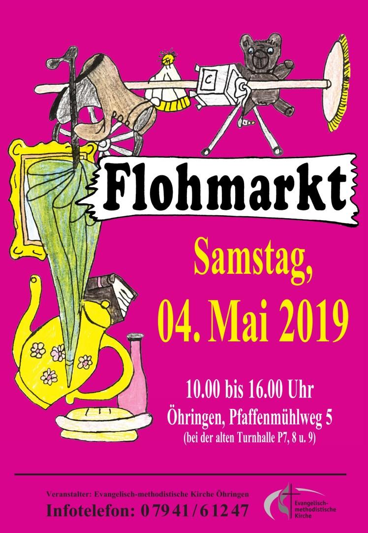 2019-05 Flohmarkt Flyer