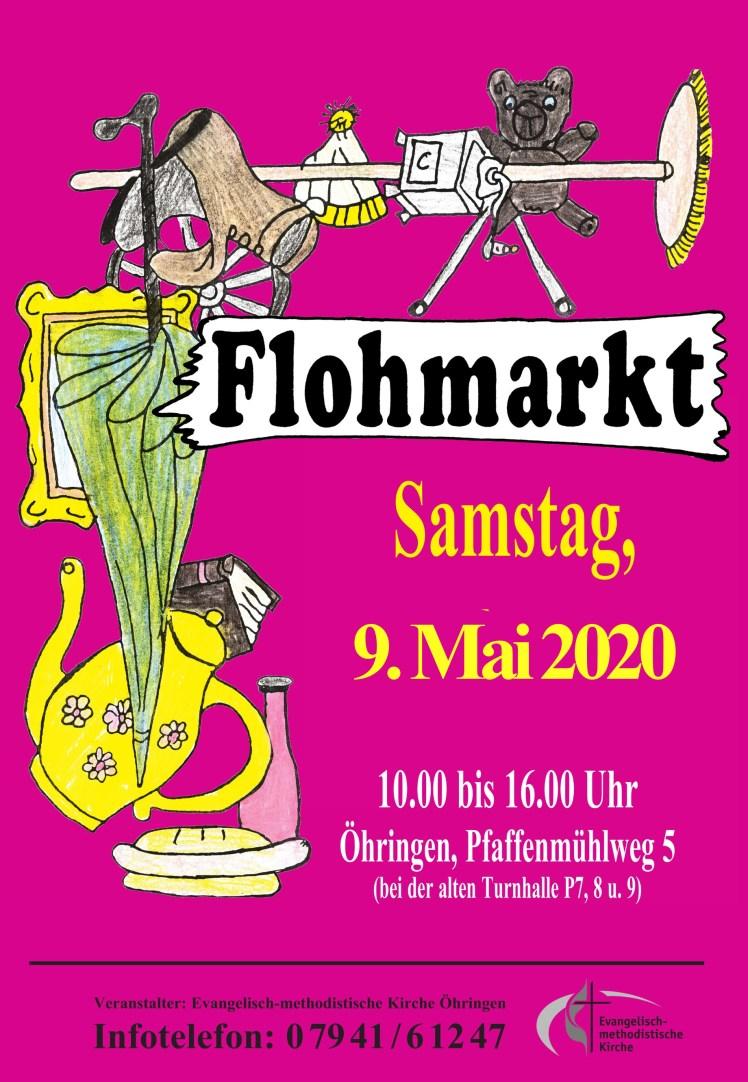 2020-05 Flohmarkt Flyer