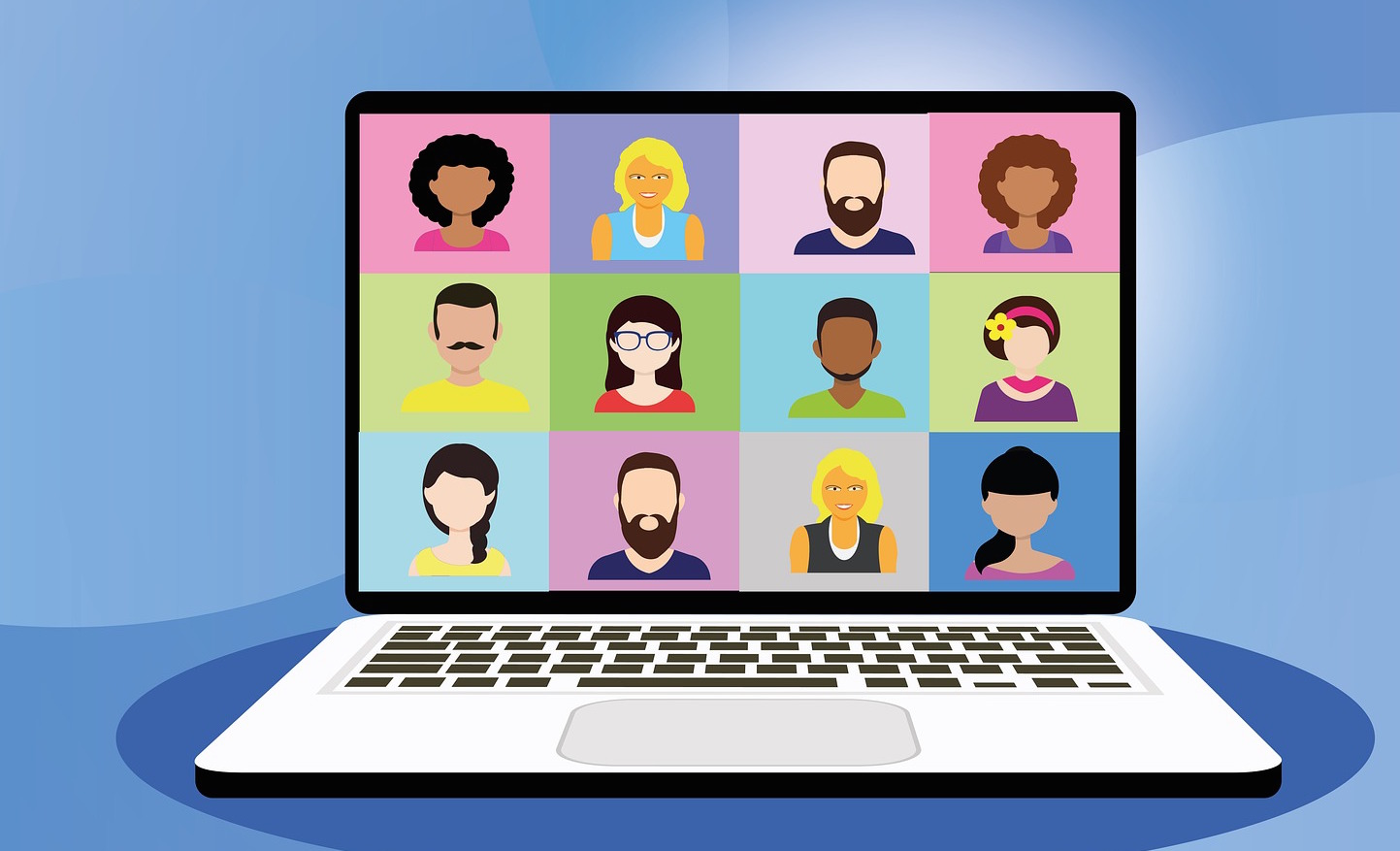 Image result for virtual meeting