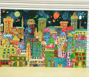 Large Scale collage