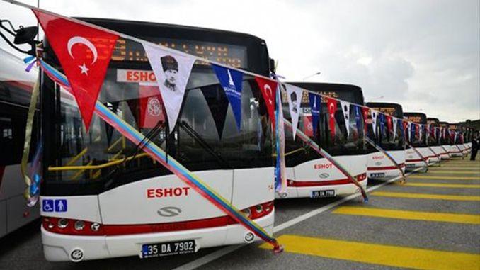 İzmir'e Otobüs Daha Geliyor