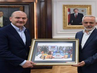 lk Bağış İçişleri Bakanı Süleyman Soylu'dan