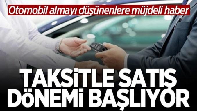 Otomobil Satisinda Taksitli