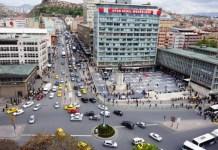 Ankara Ulus Yayalaştırma