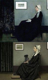 """""""A mãe de Whistler"""" de James McNeil Whistler"""