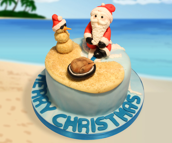 Image result for aussie christmas cake designs