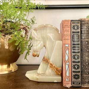 Bookend and books - Vintage home decor