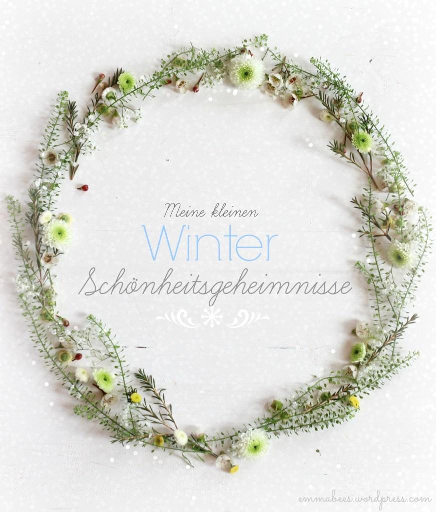 Heute zeige ich Dir ein paar kleine Pflege-Wunder für strahlende Winterhaut…