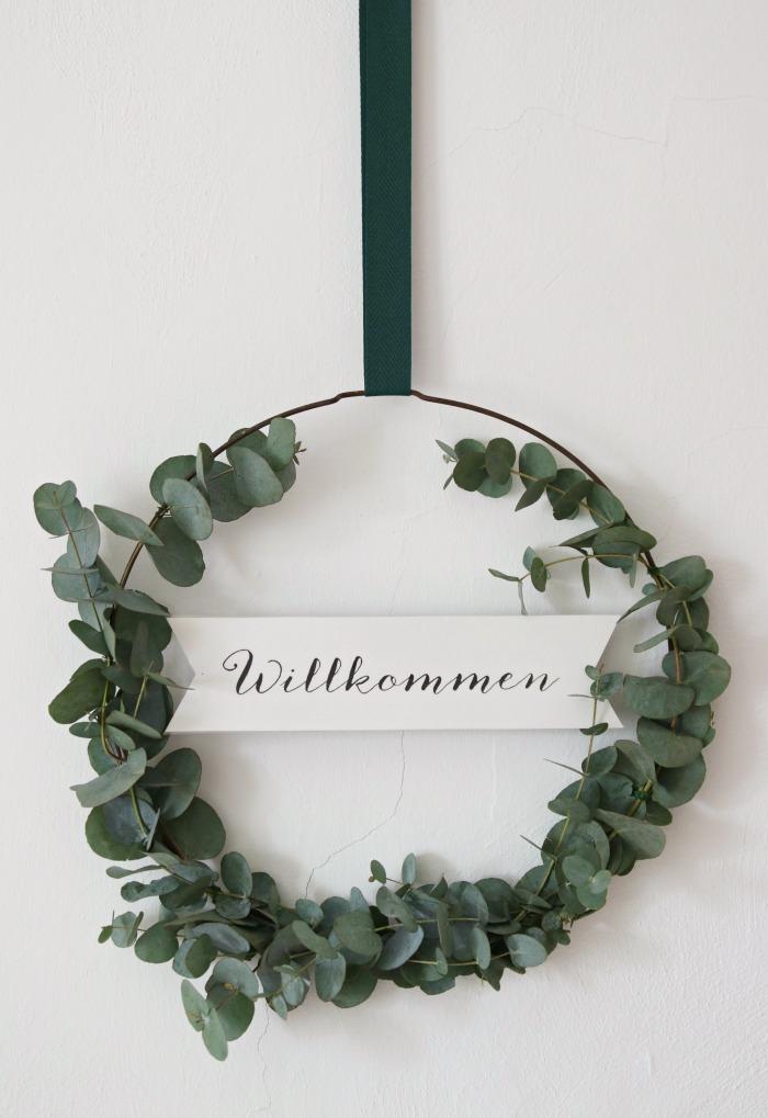 mmaBee DIY-Eukalyptus-Kranz