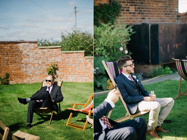 wedding deckchairs