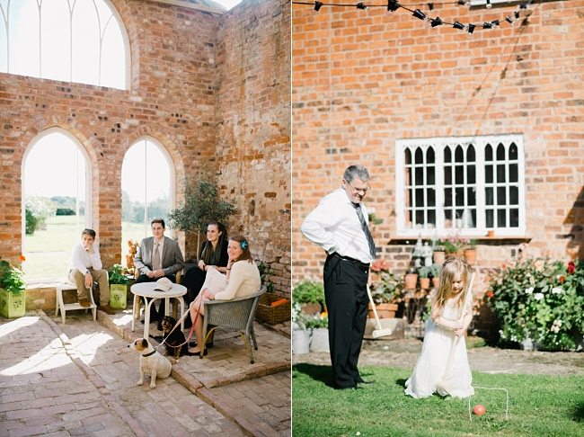 rustic garden wedding photos