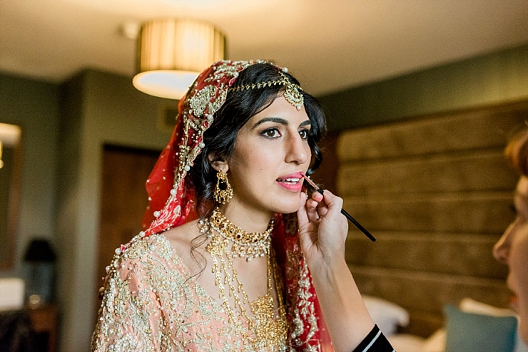 asianwedding makeup cheshire