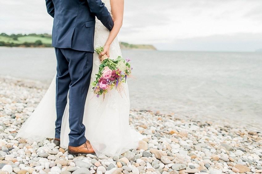 anglesey beach wedding