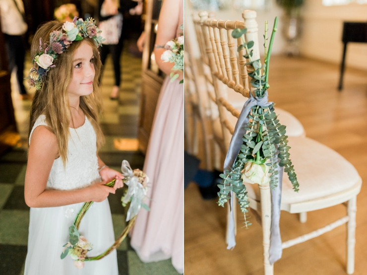 Petal and Twig flower crown decorations