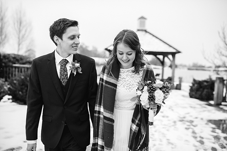 winter wedding st sandhole