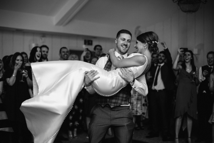 first dance at stanley house wedding