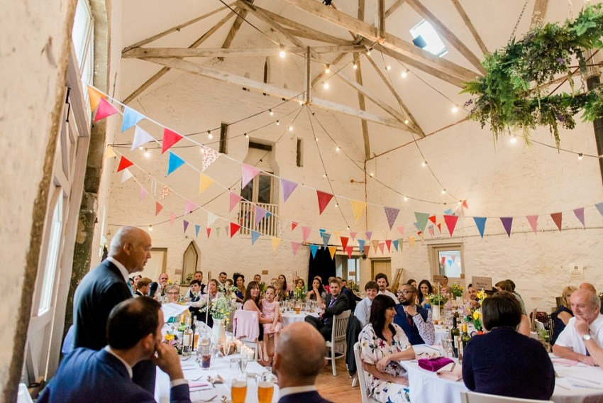 wedding speeches at wyresdale park