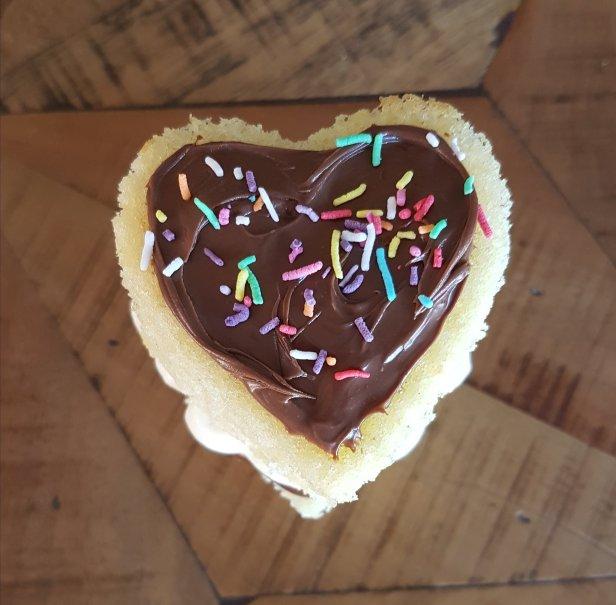 Nutella and Cream Sponge