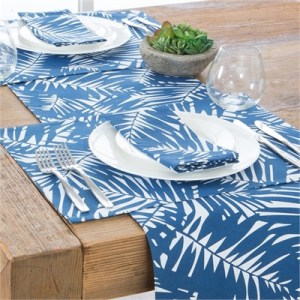 Habitat Palm Cove Navy Table Linen