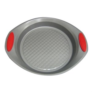 Prestige Create 20cm Round Cake Pan with red Silicone Grip