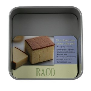 RACO Bakeware 20cm Loose Base Square Cake