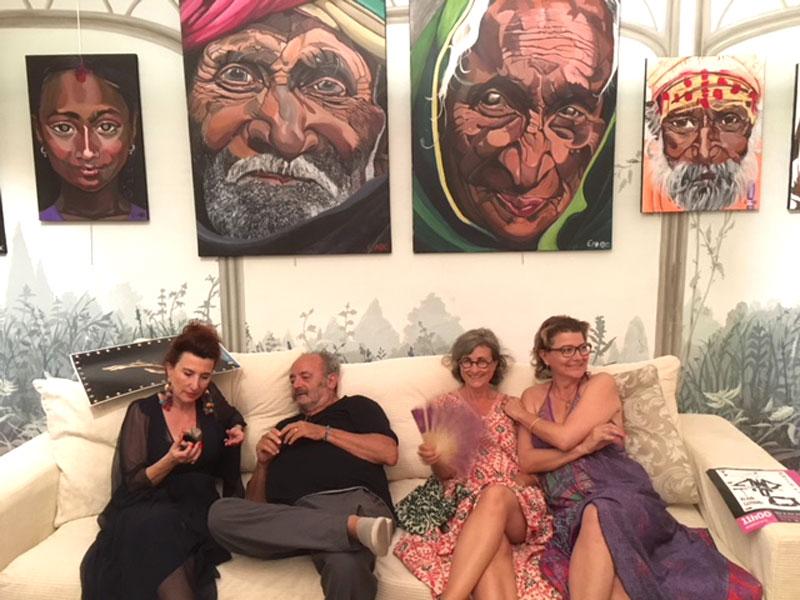 exposition Bakhti à la maison de Fogasses à Avignon