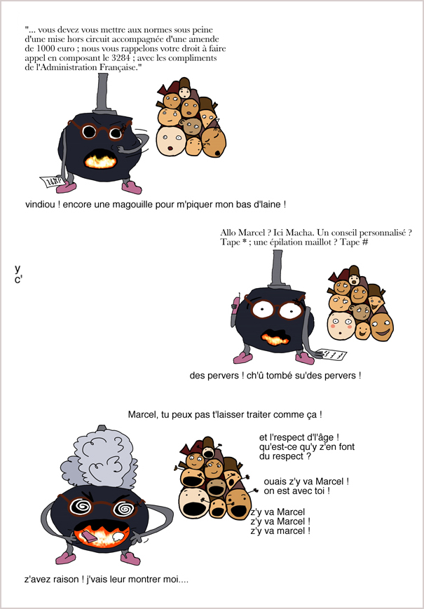 La colère de Marcel - 1