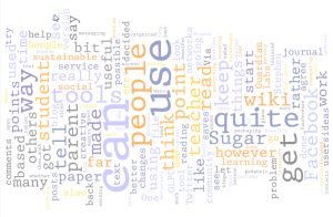 My Blog - through Wordle