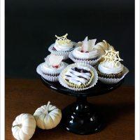 Spooky Halloween Cupcakes, 3 ways [Vegan]