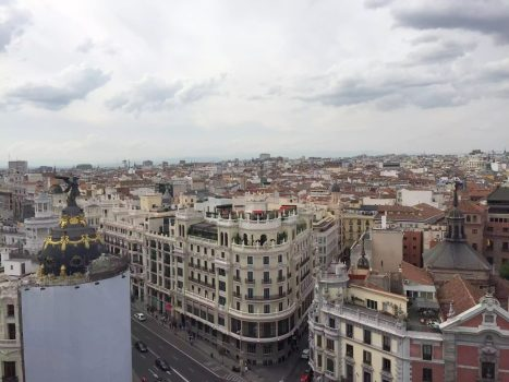 Circulo Bella Artes Azotea View Madrid 360 Drinks Rooftop Bar City