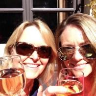Emma Mummy Birthday Paris Trip Sunshine Wine Cheers Girls Weekend