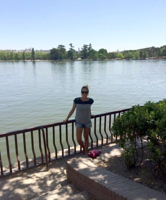 Madrid Sunshine Casa do Campo Walking Park Birthday Lake