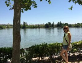 Madrid Sunshine Casa do Campo Walking Park Birthday Lake