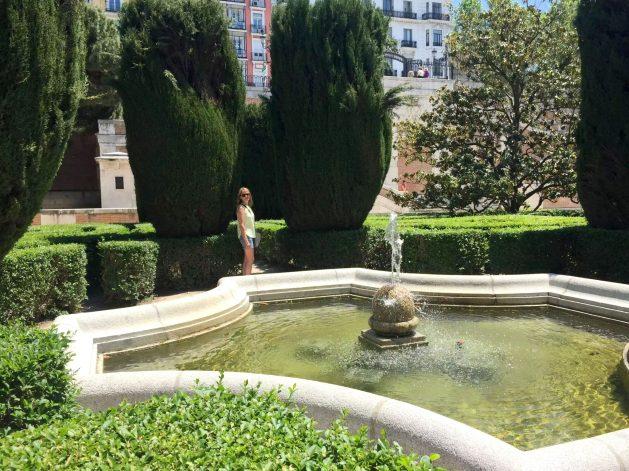 Madrid Sunshine Palcio Real de Madrid Walking Birthday Fountain Gardens Maze