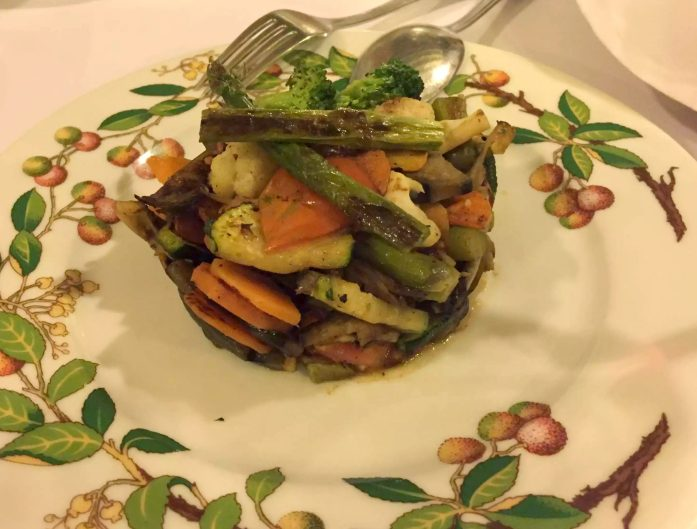 Posada de la Villa Madrid Dinner Restaurant Cava Baja Vegetables