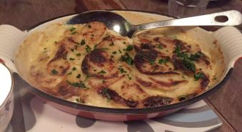 Anchor & Hope The Cut Waterloo Dinner Pub Gastropub Menu Potato Dauphinoise