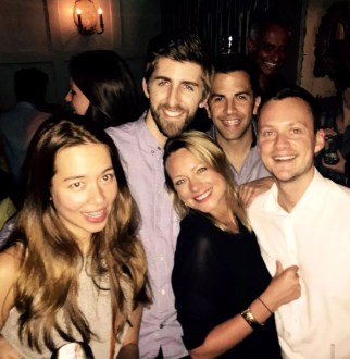 Archer St Soho London Birthday Table Dancing Bar Prosecco Friends