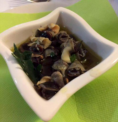 Leporino Puglia La Camelia Dinner Restaurant Snails