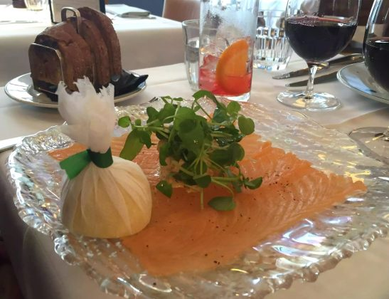 Ivy Cafe Restaurant Review Marylebone London Lunch Smoked Salmon Crab Dressed Sourdough