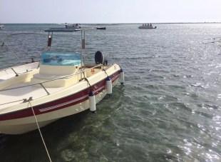 Puglia Italy Porto Cesaro Sea Toes Clear Crystal Water Sunshine Maine Boats