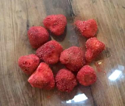 Coconut Ice Sugar-Free Grain-Free Gluten-Free SCD Paleo Strawberry Honey