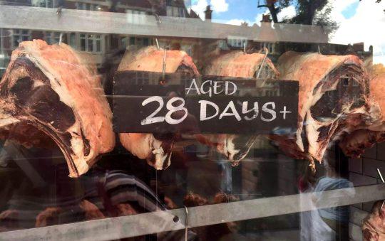 Regent's Canal Camden Walk Primrose Hill Hampstead Butcher Steaks
